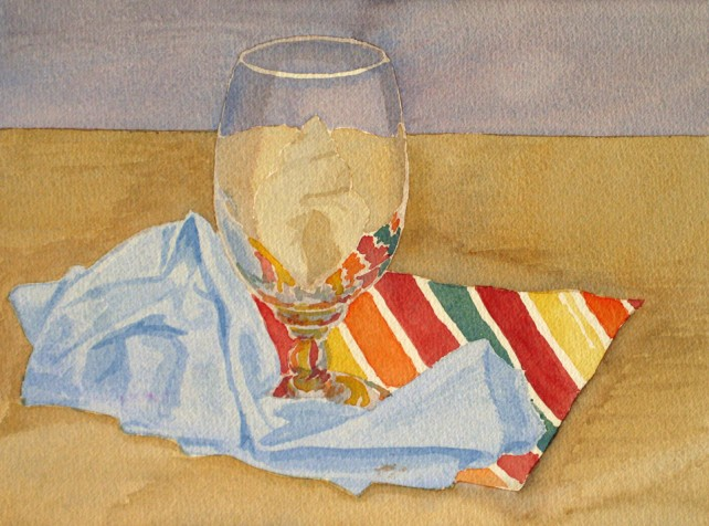 Watercolor - Still Life, Simple