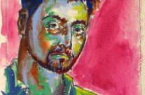 Gouache – Self Portrait