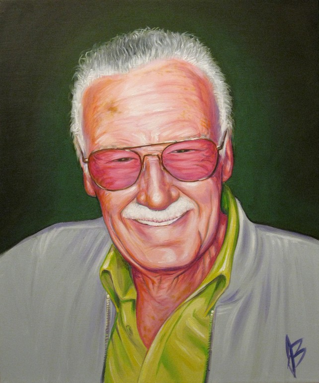 Oil Painting - Stan Lee