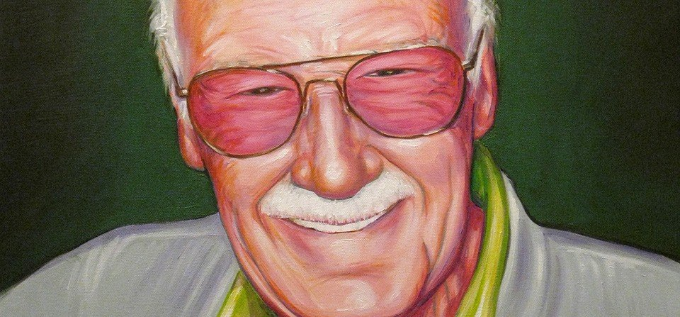 Oil Painting – Stan Lee