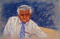 Oil Pastel – Portrait, Posed