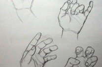Pencil – Hand Sketches