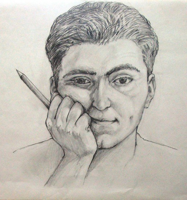 Pencil - Self Portrait