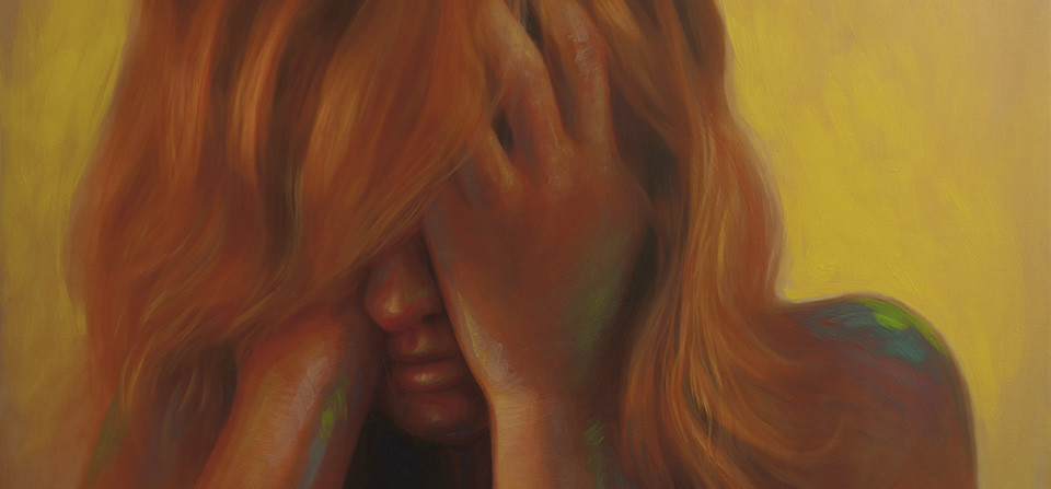 "Oil Painting – ""Stressed"""